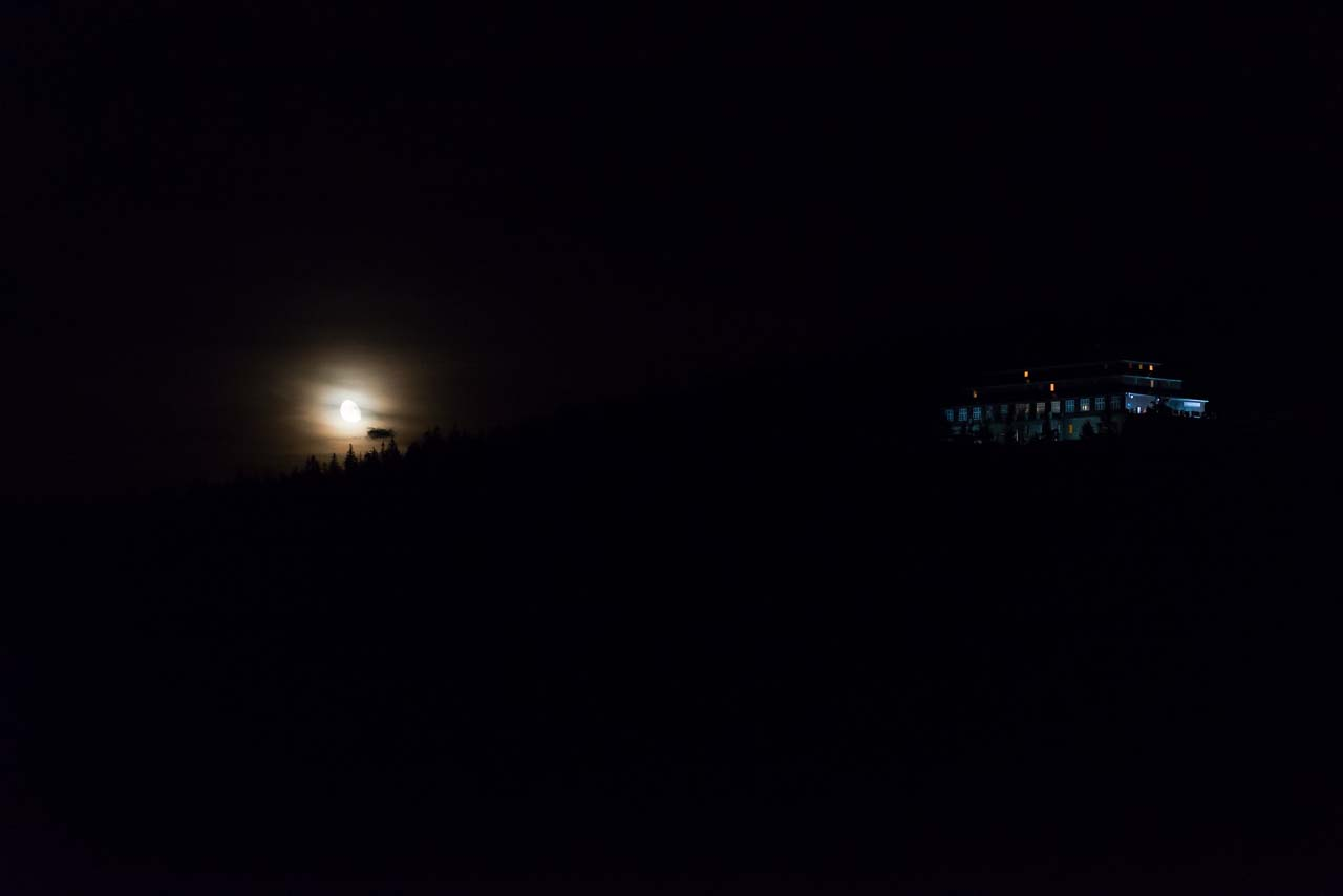 rising moon and lodge