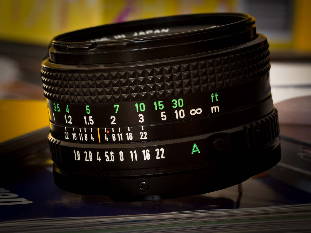 FD 50mm 1:1.8