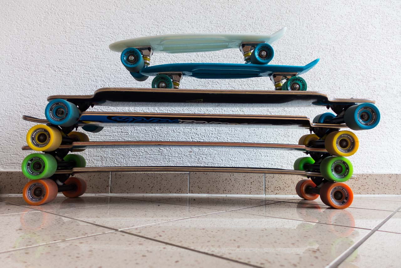 stacked boards