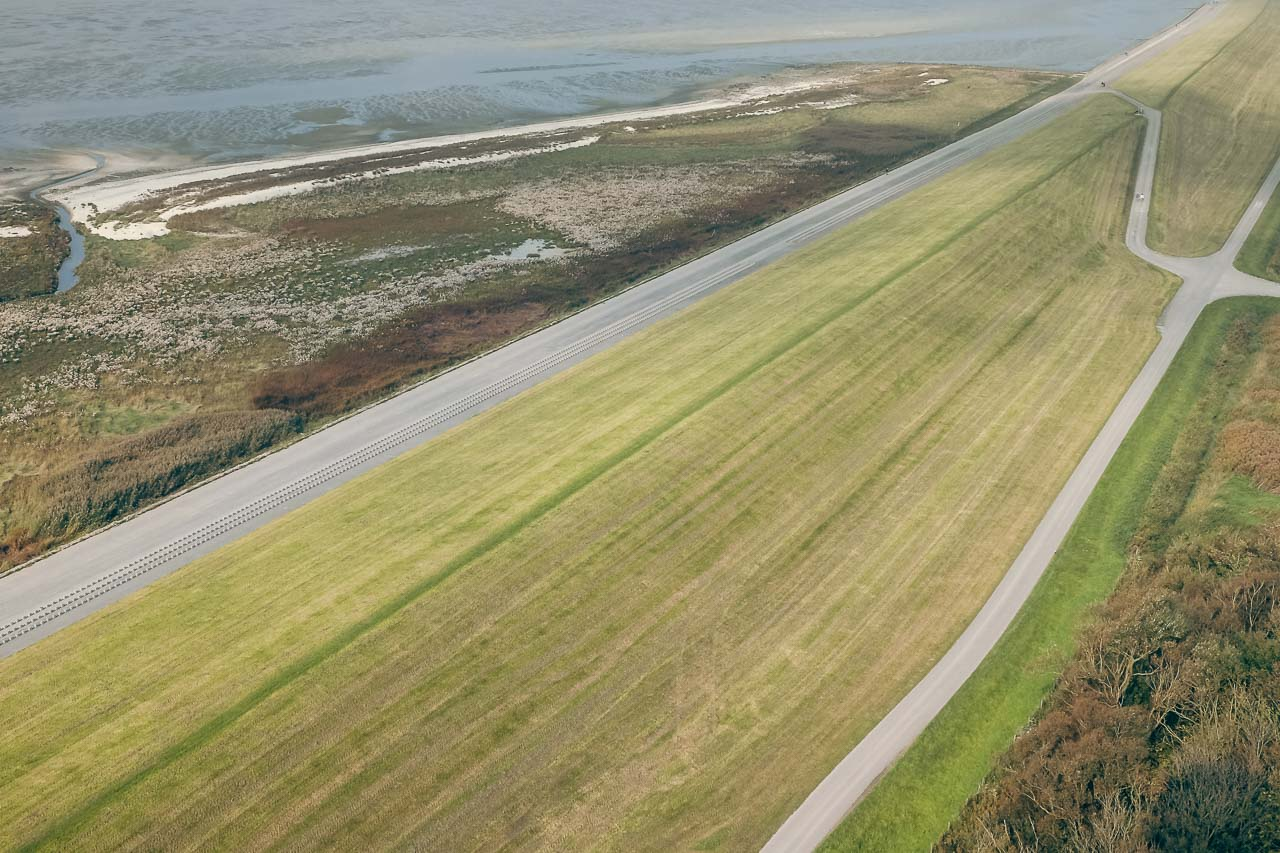 dike from above