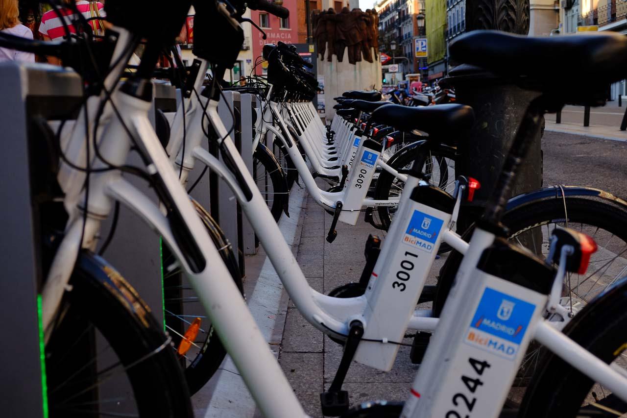 e-bikes, madrid