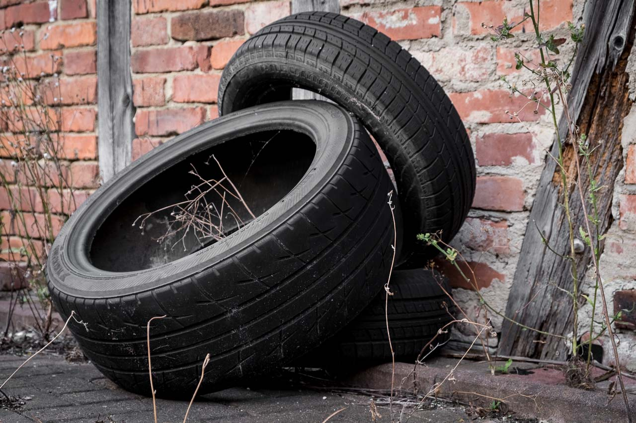 retired tyres